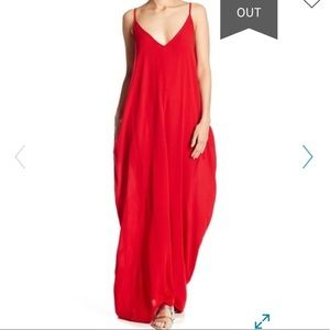 Lovestitch gauze maxi dress